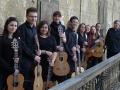 27.04.2015 - Benefiční koncert v Olomouci: kytarový soubor Olomouc Guitar Consort