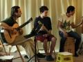 20.4.2014 - Benefiční koncert v Olomouci: předkoncertová příprava hudebníků.